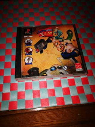 EARTHWORM JIM 2 PSX PS1 PLAYSTATION