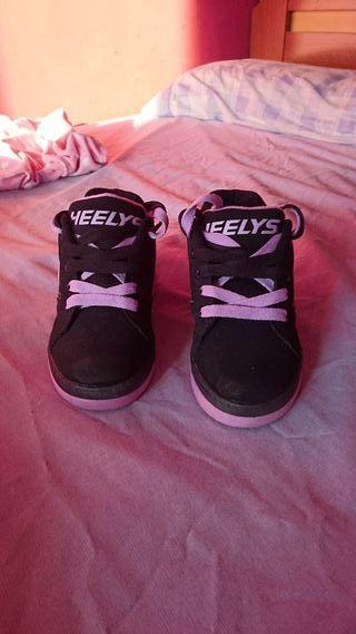 zapatillas Heeys con ruedas