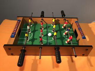 Futbolin madera 12 jugadores