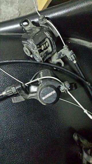 frenos de cable para bici