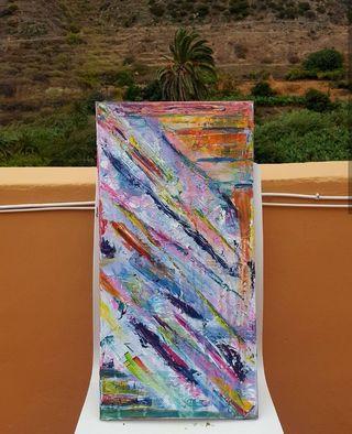 Cuadro decoracion abstracta contemporaneo