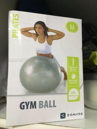 Gym ball doymos