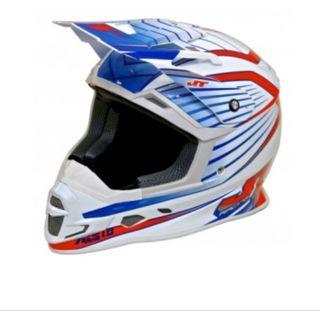 Casco motocross JT