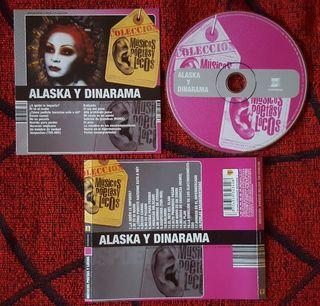 ALASKA Y DINARAMA Colección Músicos Poetas CD RARO