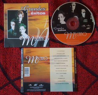 MECANO Grandes Éxitos CD Venezuela MUY RARO