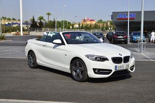 BMW Serie 220i cabrio linea Sport 2015