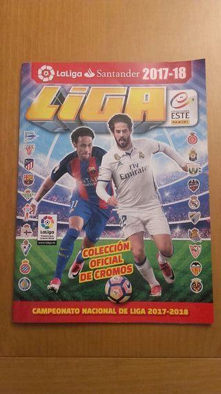 Album La Liga 2017/18 Con Cromos