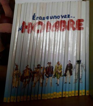 Colección Erase una vez el hombre. 26 Libros
