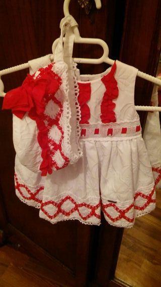 lote de vestidos de bebe