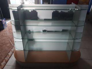 Expositor de cristal