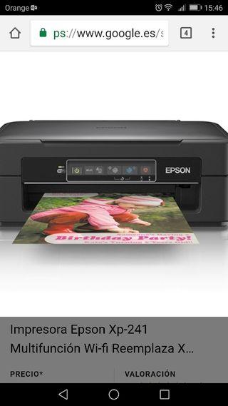 impresora Epson color negro