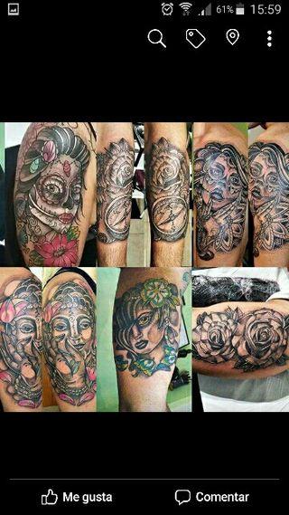 Tatuaje. tatuador tattoo tatuar..