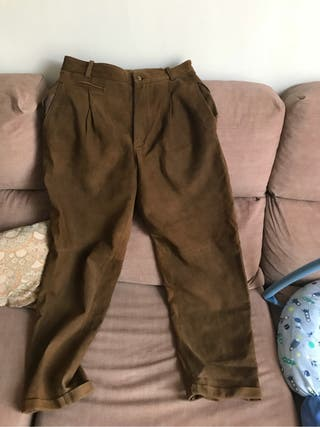 Pantalones ante/piel invierno