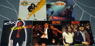 DISCOGRAFIA ACDC 5 LP VINILOS
