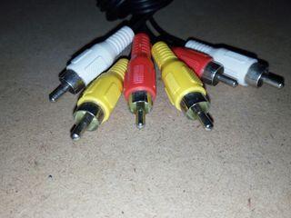 Cable RCA + adaptador