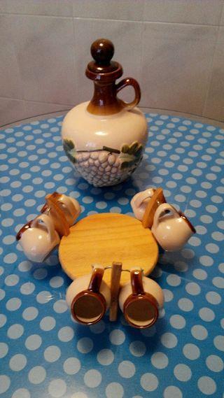 Licorera cerámica