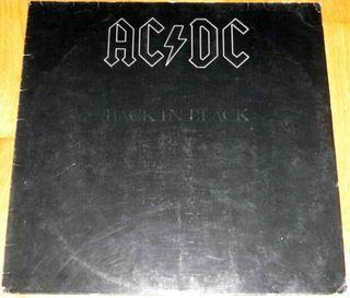 DISCO VINILO LP ACDC BACK IN BLACK