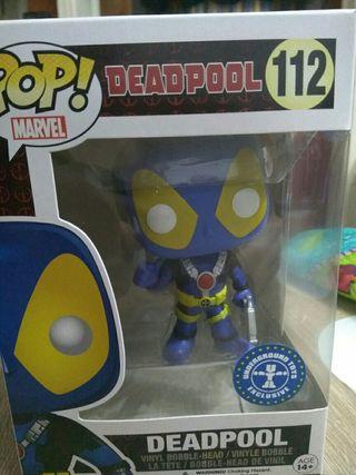 Funko Pop! Deadpool Azul 112 (EXCLUSIVO)