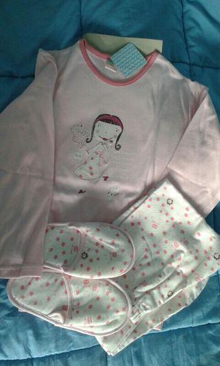 Pijama niña talla 10 nuevo