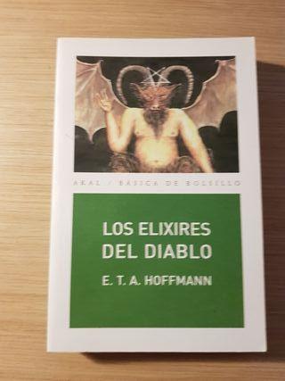 Los elexires del diablo . libro de Hoffman.