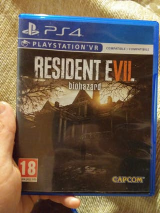 Juego ps4 Resident Evil VII