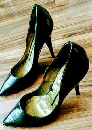 zapatos de tacón muy sexy