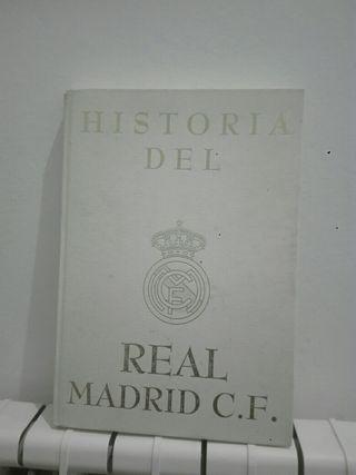 libro de la historia del Real MADRID