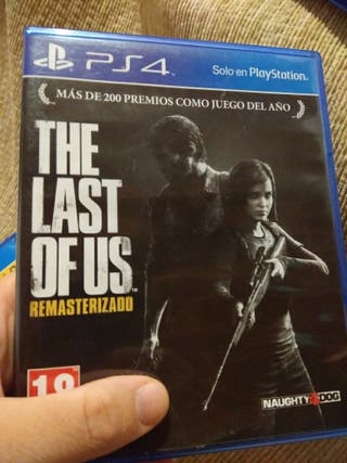 The last of us Goty. Juego ps4