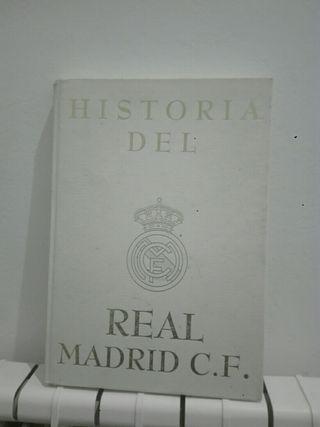libro de la historia de el real MADRID
