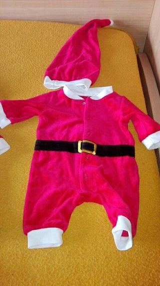 Traje Papá Noel bebé