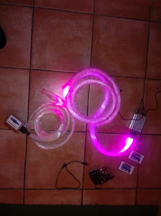 luz fibra optica