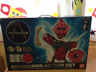 Disfraz Armouron action set