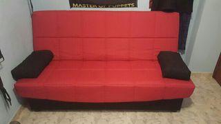 Sofá cama totalmente nueva con transporte gratis