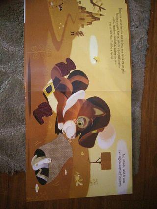 libro infantil el gato con botas