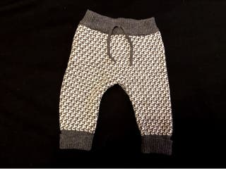 Pantalon bebe lana