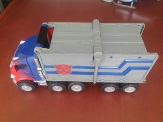 Camión de Optimus Prime