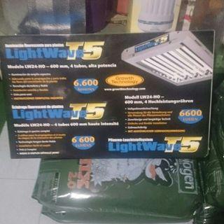 lightwave t5 6600 lumenes