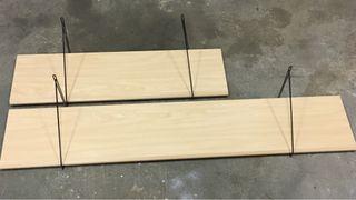 2 estanterias