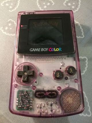 Game boy color + juegos