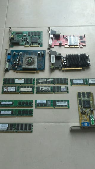 Memorias RAM y Gráficas para PC