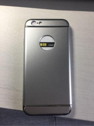 Funda iphone 6 plata
