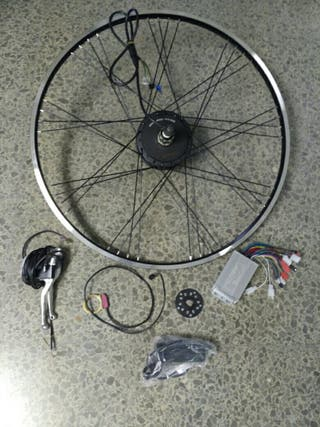 "Motor kit 29"" controlador 350w y sensor pedaleo."