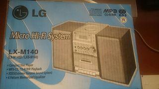 Minicadena Hi-Fi Lg