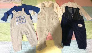 3 trajes Prenatal bebé 3-6 mes