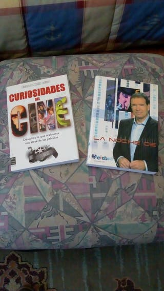 Libros de cine. la noche de. curiosidades del cine