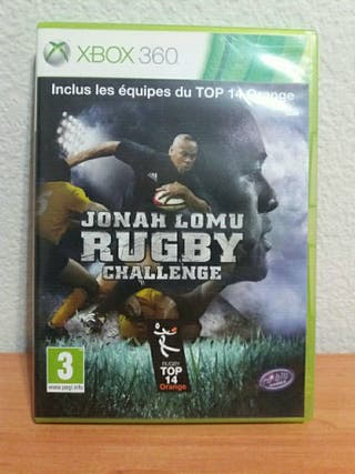 juego Xbox 360 Jonah Lomu rugby