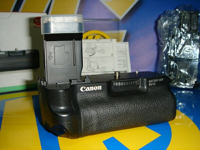 empuñadura grip canon modelo RG E3