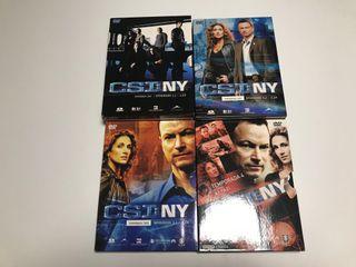 CSI: NY 4 temporadas DVD