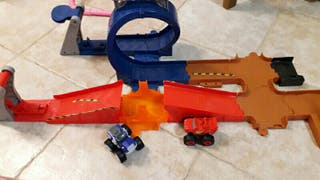 pista blaze and the master machine juguete