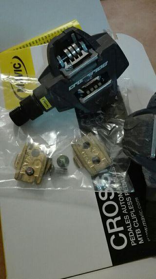 pedales automaticos nuevos mavic